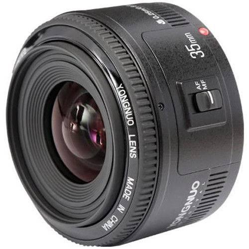 Tudo sobre 'Yongnuo Lente 35mm F2 Canon'