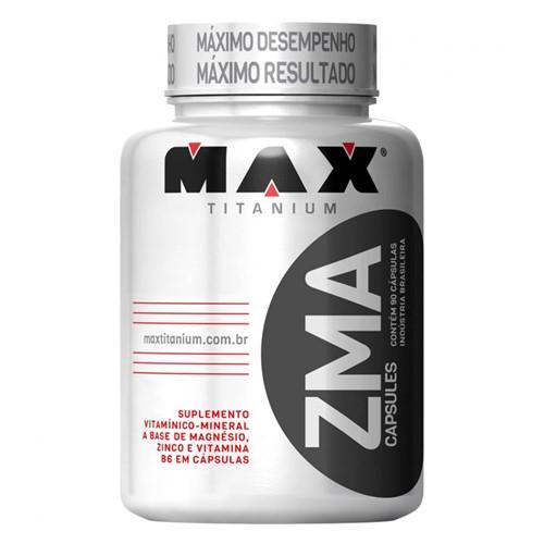Tudo sobre 'ZMA (90caps) Max Titanium'