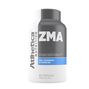 ZMA Atlhetica Nutrition - Sem Sabor - 90 Cápsulas