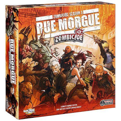 Tudo sobre 'Zombicide Season 3: Rue Morgue - em Português!'