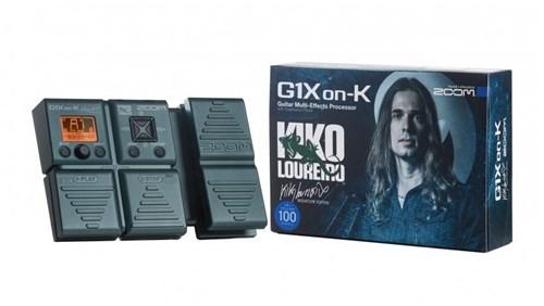 Zoom Pedaleira G1Xon-K Kiko Loureiro Signature