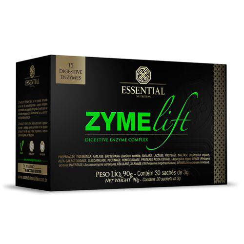 Zymelift 90g 30 Sachês Enzimas Digestivas - Essential