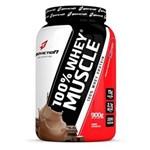 Ficha técnica e caractérísticas do produto 100% Whey Muscle 900G Bodyaction Chocolate