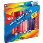 Ficha técnica e caractérísticas do produto Lápis de Cor Tris Megasoft 60 Cores-Summit