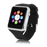 A1 Relógio Inteligente Smart Watch Bluetooth Chip Android S7 Prata