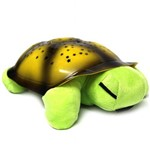 Abajur Infantil Tartaruga Verde Musical Projeta no Teto