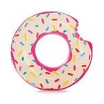 Ficha técnica e caractérísticas do produto Acessórios de Praia e Piscina - Bóia Redonda - 107 Cm - Rosquinha Donut
