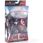 Ficha técnica e caractérísticas do produto Action Figure Capitão América Guerra Civil - Marvel