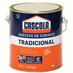 Ficha técnica e caractérísticas do produto Adesivo Contato Cascola 2,8kg