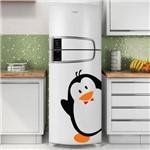 Ficha técnica e caractérísticas do produto Adesivo de Geladeira Pinguim Dando Tchau