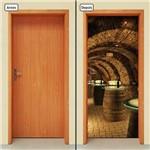 Adesivo Decorativo de Porta - Bar - Carverna - 005cnpt