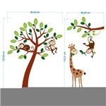 Adesivo Decorativo Infantil Safari 05 1,20x1,50cm