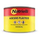 Ficha técnica e caractérísticas do produto Adesivo Plástico Natrielli 400g Branco Branco