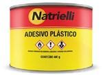 Ficha técnica e caractérísticas do produto Adesivo Plástico Natrielli 400g Cinza