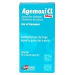 Ficha técnica e caractérísticas do produto Agemoxi CL Agener 250mg C/ 10 Comprimidos