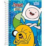 Agenda Diária Adventure Time Fundo Azul 2016 - Tilibra