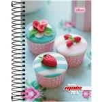 Agenda Feminina Mais+ Cupcake 2016 - Tilibra