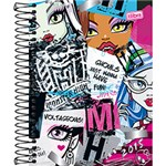 Agenda Monster High Recortes 2015 - Tilibra
