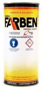 Ficha técnica e caractérísticas do produto Aguarrás Farben Raz 0,9l