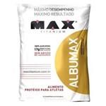 Ficha técnica e caractérísticas do produto Albumax 100% - 500g Morango - Max Titanium