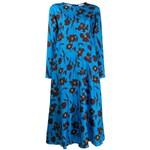 Ficha técnica e caractérísticas do produto Alysi Vestido com Estampa Floral - Azul