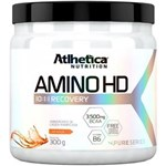 Ficha técnica e caractérísticas do produto Aminoácido em Pó Amino Hd 10:1:1 - Atlhetica - 300g- Uva