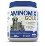 Ficha técnica e caractérísticas do produto Aminomix Gold 500g Suplemento Vitamínico - Vetnil -