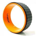 Ficha técnica e caractérísticas do produto Anel de Yoga Liveup Ls3750 Pilates Exercícios Magic Circle - Laranja