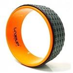 Ficha técnica e caractérísticas do produto Anel de Yoga LIVEUP Pilates Exercícios Magic Circle Laranja - LS3750