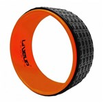 Ficha técnica e caractérísticas do produto Anel de Yoga Liveup Sports Ls3750 33Cm Preto e Laranja