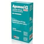 Ficha técnica e caractérísticas do produto Antibiotico Agemoxi Cl 250mg 10 Comprimidos - Agener - Agener União