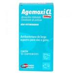 Ficha técnica e caractérísticas do produto Antibiótico Agemoxi CL Agener 250mg C/ 10 Comprimidos