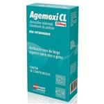 Ficha técnica e caractérísticas do produto Antibiótico Agemoxi Cl Agener União 250mg 10 Comprimidos