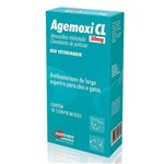 Ficha técnica e caractérísticas do produto Antibiótico Agemoxi Cl Agener União 50mg 10 Comprimidos