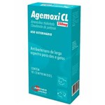 Ficha técnica e caractérísticas do produto Antibiótico Agener União Agemoxi Cl 10 Comprimidos 250Mg