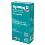 Ficha técnica e caractérísticas do produto Antibiótico Agener União Agemoxi CL 10 Comprimidos