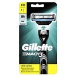 Ficha técnica e caractérísticas do produto Aparelho de Barbear Gillette Mach 3 com 2 Cargas