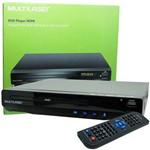 Ficha técnica e caractérísticas do produto Aparelho DVD Player Hdmi HD 5.1 Canais Rca USB Mp3 Função Karaoke Multilaser Preto SP193