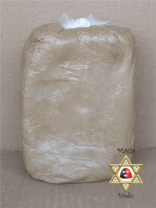 Ficha técnica e caractérísticas do produto Argila - Branca