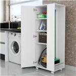 Ficha técnica e caractérísticas do produto Armário para Lavanderia Dubai 1 Porta Branco - Bertoli Móveis