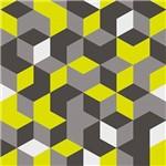 Ficha técnica e caractérísticas do produto Autoadesivo Decorado Plastcover Modelo Geométrico Xadrez 45CM X 10M