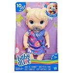 Ficha técnica e caractérísticas do produto Baby Alive Primeiros Sons Loira- Hasbro- E3690