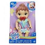 Ficha técnica e caractérísticas do produto Baby Alive Primeiros Sons Morena E3688 - Hasbro