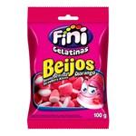 Ficha técnica e caractérísticas do produto Bala Fini Beijos Morango 100g