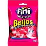 Ficha técnica e caractérísticas do produto Bala Gelatina Fini Beijos 100g