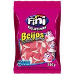 Ficha técnica e caractérísticas do produto Bala Gelatina Fini Beijos Morango Pacote 250g