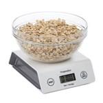 Ficha técnica e caractérísticas do produto Balança Digital para Alimentos Progressive em Plástico - Branco