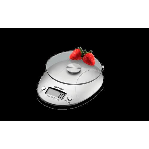 Ficha técnica e caractérísticas do produto Balança Digital para Cozinha 3 Kg - Balanças 15 X 18,5 X 4 Cm
