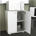Ficha técnica e caractérísticas do produto Balcão Baixo 2 Portas 1 Prateleira Bl3300 Branco - Tecno Mobili