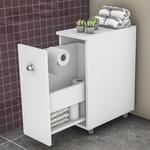Ficha técnica e caractérísticas do produto Balcão para Banheiro Branco - Movelbento